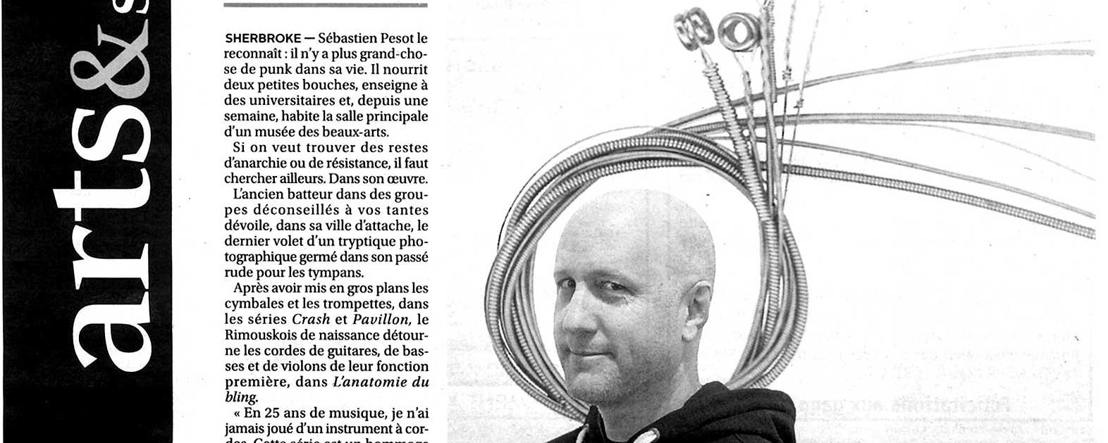 La Tribune: Cordes sensibles