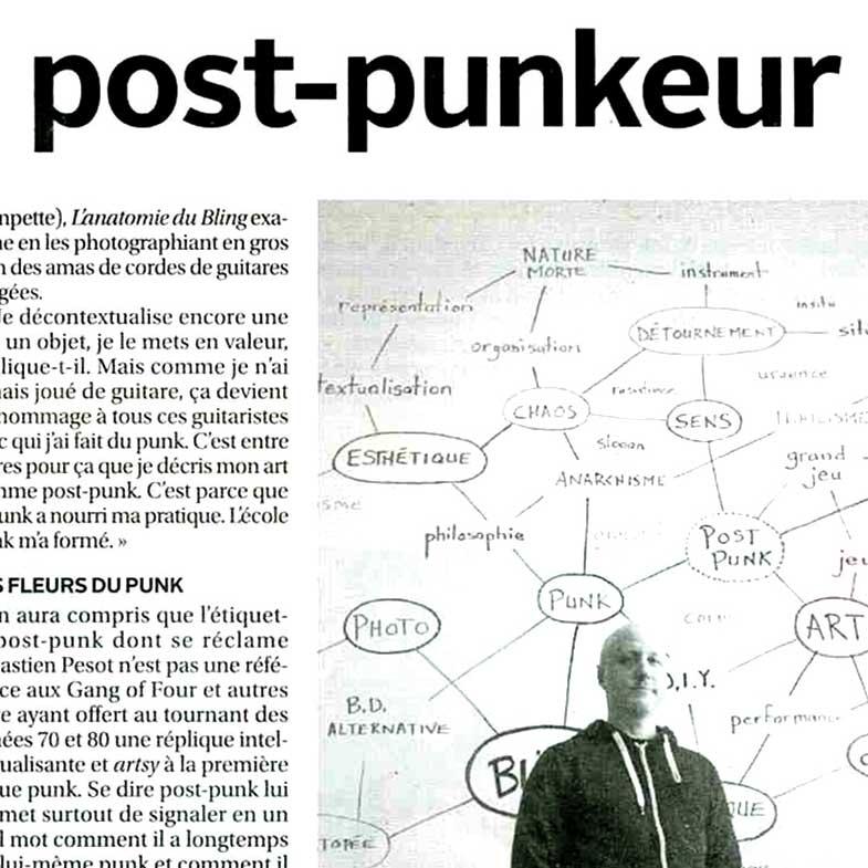 Pesot est un post punker
